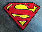 New Superman Man of Steel Embroidered Patch Applique Badge Iron-on Sew On