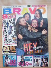 BRAVO 8/95 HEY,Beverly Hills 90210,East 17,Slash,R.E.M.,Kelly Family,Ini Kamoze