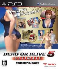 USED PlayStation3 Dead or Alive 5 Ultimate Collector's Edition from Japan F/S