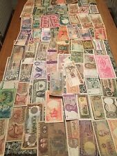 Massive Lot OfWorld Banknotes.  Some As Old As 1910. About A Third Uncirculated