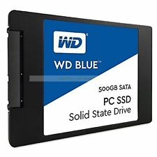 "Western Digital SSD 500GB WD Blue 2.5"" 7mm 545MB/s Read Solid State Drive New ct"
