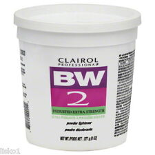CLAIROL BW2 BLEACH POWDER HAIR LIGHTENER, DEDUSTED EXTRA STRENGTH   8oz.