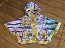 FREE SHIP Anthropologie Lia Molly girl Poncho Sweater cardigan 12 18 Months - 2T