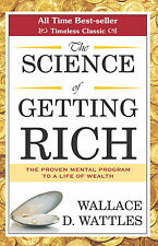The Science of Getting Rich + 2 - Audio Book Mp3 CD - Wallace D. Wattles Trilogy
