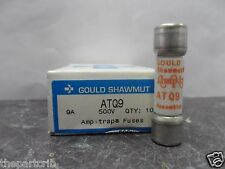 New Lot Shawmut ATQ 9 Amp Fuses Bussmann FNQ-9 Time Delay 500 Vac NIB