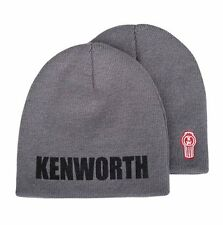 Kenworth Charcoal Gray Knit Winter Beanie Hat