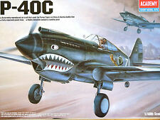 Academy Plastic Model Kit 1/48 SCALE P-40C TOMAHAWK 12280