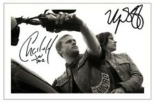 CHARLIE HUNNAM + MAGGIE SIFF SONS OF ANARCHY SIGNED PHOTO PRINT AUTOGRAPH SOA