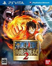 Used PS Vita One Piece Kaizoku Musou 2 Japan Import (Free Shipping)