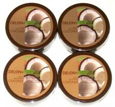 DELON Intense Moisturizing Coconut Body Butter 6.9 Oz, 4-Pack, New