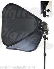 DIFFUSORE FLASH UNIVERSALE PROFESSIONALE 60 X 60 cm SOFTBOX BANK DIFFUSION LIGHT