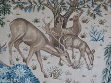 "WILLIAM MORRIS CURTAIN FABRIC ""The Brook"" 3.45 mtrs TAPESTERY LINEN ARCHIVE III"