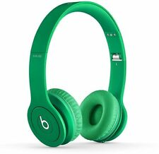 Beats Solo HD Drenched In GREEN Over Ear Headphones Beats By Dr. Dre (MH9F2AMA-U