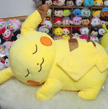 50cm pikachu pokemon lying  sleep plush big dolls doll best UA01 warm gift