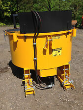 NEW HYDRAULIC DRIVEN PAN MIXER,concrete mixer ,digger, trailer, tractor,forklift