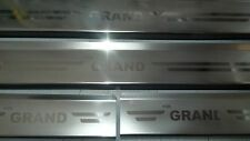 Car Stainless Steel Foot Step Sill Plate Set of 4 pieces :- Hyundai I-10 Grand