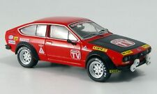 "wonderful modelcar  ALFA ROMEO GTV Turbodelta ""Prova"" 1980 - red - scale 1/43"