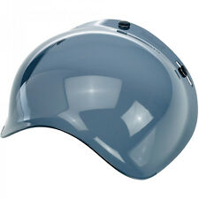 Biltwell Bubble Shield Visor for Bonanza Gringo Motorcycle Helmet - Smoke