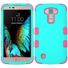 Shockproof Multi-Layer Hard Case+Soft Skin Cover for LG K10 / Premier LTE L62VL