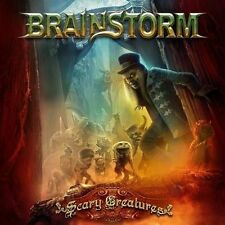 BRAINSTORM - SCARY CREATURES - CD+DVD NEW SEALED 2016
