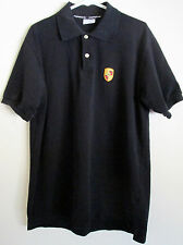 Porsche Design Drivers Selection Black Polo Shirt Size Large Made in Portugal