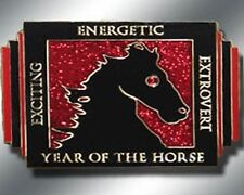 Chinese ZODIAC - YEAR OF THE HORSE Spinner Poker Card Guard New