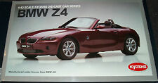 KYOSHO SOFT TOP CONVERTIBLE RED BMW Z4 Scale1:12,  08604R VERY RARE, SEALED