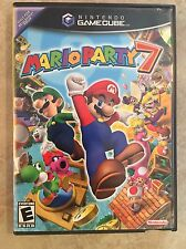 Mario Party 7 ( Nintendo , Gamecube, 2005 )Complete with Microphone