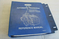 1993 FORD CD4E AUTOMATIC TRANSAXLE REFERENCE MANUAL