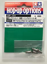 Tamiya 53141 4WD Touring & Rally Auto Lightweight King Pins (TL01/FF02/M03) NIP
