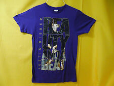 JUSTIN BIEBER T-SHIRT BEAUTY AND A BEAT TEEN STAR COLLECTIBLE TEE (SMALL)