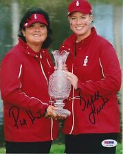 PAT HURST, BRITTANY LINCICOME LPGA Signed 8x10 Photo PSA/DNA Nice Autos!
