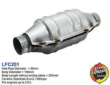 Ceramic Universal Catalytic Converter Round CAT 400cpsi Euro2 50mm LFC201