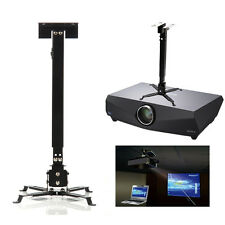 Projector Mount Universal Ceiling Bracket LCD DLP Adjustable Tilt Swivel 66lbs