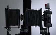 """Adapterplatte für Canon Eos Kameras mit EF Anschluß an Sinar 4x5"""" Rückteil"""