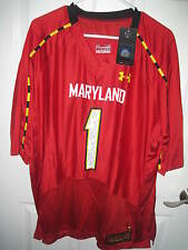 UNIVERSITY OF MARYLAND TERPS UNDER ARMOUR ON FIELD FOOTBALL JERSEY SIZE XXL