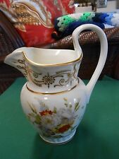 "Magnificent 19th Century Replica  LENOX ""Tucker Pitcher"" 24kt Hand Decorated USA"