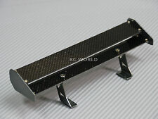 RC 1/10 Car Accessories CARBON FIBER Double WING SPOILER  For DRIFT Touring Cars