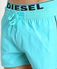 DIESEL Beachwear 'Dolphin' Men's Swim / Bathing Trunks Board Shorts M Turquoise