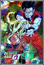 DRAGON BALL Z GT 1998 FIGHTING WARRIORS SON GOTEN SPELL FOIL HOLOGRAPHIC MINT