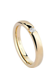 Anello Damiani VERAMORE fede FEDI ORO giallo 20035658 wedding ring 9 diamante