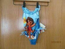 DORA THE EXPLORER One Piece Swim Suit~ Infant Size 12 months~ NEW with Tags