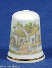 Special Offer !!TCC Heart of England The Old Mill China Thimble B/90