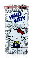 for iPod touch 5th 5 th gen itouch  white blue red  gray hard case kitty kitten