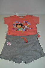 Dora the Explorer T-Shirt and Shorts Set - BRAND NEW. Size: 2 years
