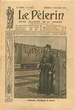WWI Poilus Aumonier Militaire Prêtre Soldat Train Champagne 1914 ILLUSTRATION