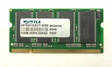 512MB DDR 400mhz PC3200 SODIMM Laptop RAM 200 pin Memory AD1SSH12LEWT-4CGG