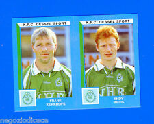 FOOTBALL 2000 BELGIO Panini-Figurina -Sticker n. 421 - K.F.C DESSEL SPORT -New