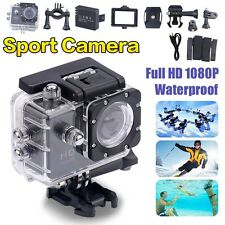 Waterproof HD 1080p Action Sport Cam Camera Video Helmet Cam Bike DVR