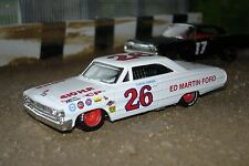 1964 Ford Galaxie 500, #26 Curtis Turner, Old School Stock Car 1/43